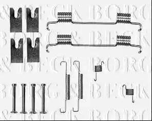 Borg & Beck BBK6312 - Piederumu komplekts, Stāvbremzes mehānisma bremžu loks interparts.lv