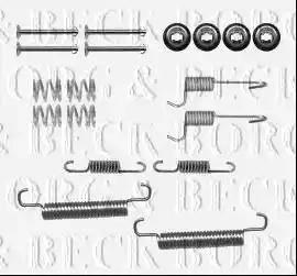 Borg & Beck BBK6228 - Piederumu komplekts, Stāvbremzes mehānisma bremžu loks interparts.lv