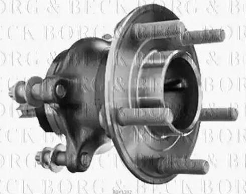 Borg & Beck BBK1302 - Piederumu komplekts, Disku bremžu uzlikas interparts.lv