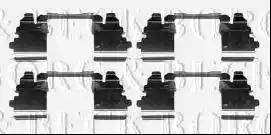 Borg & Beck BBK1318 - Piederumu komplekts, Disku bremžu uzlikas interparts.lv