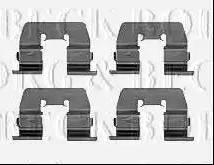 Borg & Beck BBK1388 - Piederumu komplekts, Disku bremžu uzlikas interparts.lv