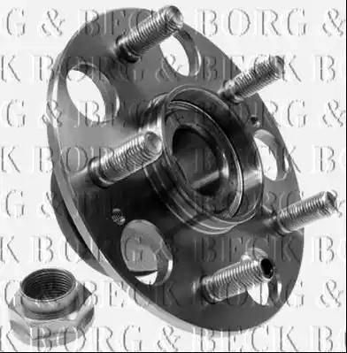 Borg & Beck BBK1246 - Piederumu komplekts, Disku bremžu uzlikas interparts.lv