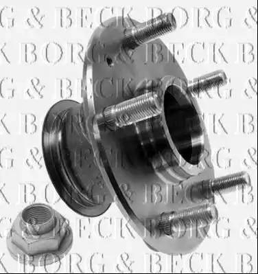 Borg & Beck BBK1285 - Piederumu komplekts, Disku bremžu uzlikas interparts.lv