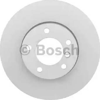 BOSCH 0 986 479 381 - Bremžu diski interparts.lv
