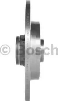 BOSCH 0 986 479 383 - Bremžu diski interparts.lv