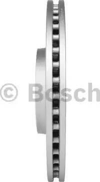 BOSCH 0 986 479 747 - Bremžu diski interparts.lv
