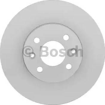 BOSCH 0 986 478 598 - Bremžu diski interparts.lv