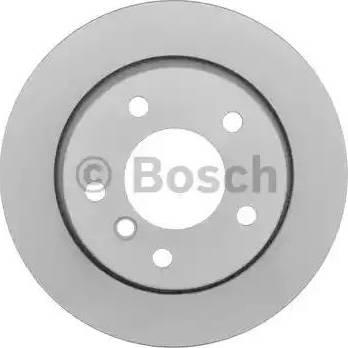BOSCH 0 986 478 642 - Bremžu diski interparts.lv