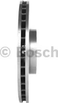 BOSCH 0 986 478 166 - Bremžu diski interparts.lv