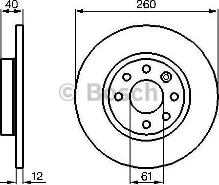 BOSCH 0 986 478 386 - Bremžu diski interparts.lv