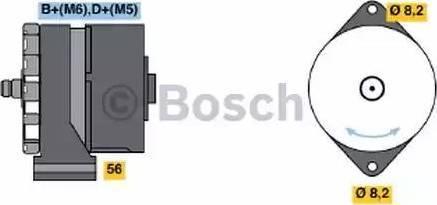 BOSCH 0 986 030 110 - Ģenerators interparts.lv