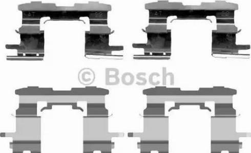 BOSCH 1 987 474 407 - Piederumu komplekts, Disku bremžu uzlikas interparts.lv