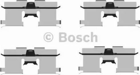 BOSCH 1 987 474 438 - Piederumu komplekts, Disku bremžu uzlikas interparts.lv