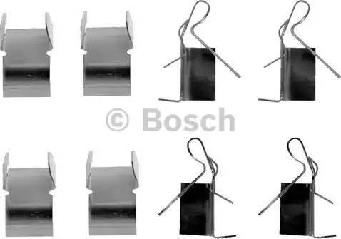 BOSCH 1 987 474 606 - Piederumu komplekts, Disku bremžu uzlikas interparts.lv