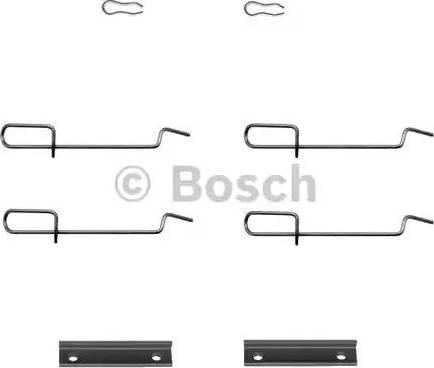 BOSCH 1 987 474 197 - Piederumu komplekts, Disku bremžu uzlikas interparts.lv