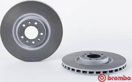 Brembo 09.A089.11 - Bremžu diski interparts.lv