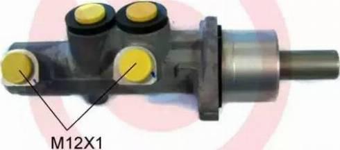 Brembo M 85 065 - Galvenais bremžu cilindrs interparts.lv