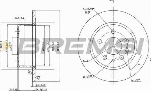 Bremsi CD6003S - Bremžu diski interparts.lv