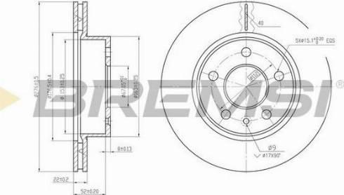 Bremsi CD6860V - Bremžu diski interparts.lv