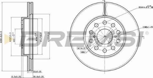 Bremsi CD6749V - Bremžu diski interparts.lv