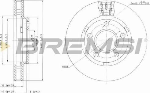 Bremsi CD7030V - Bremžu diski interparts.lv
