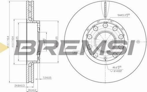 Bremsi CD7706V - Bremžu diski interparts.lv