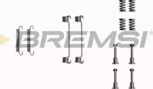 Bremsi SK0690 - Piederumu komplekts, Bremžu loki interparts.lv