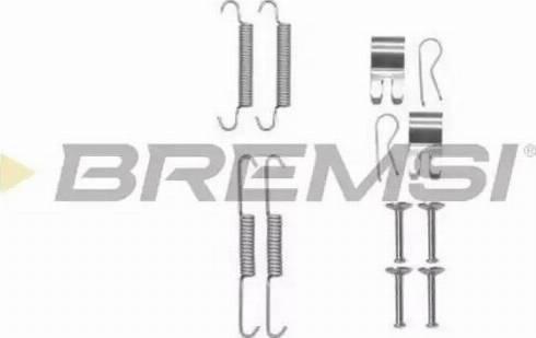 Bremsi SK0013 - Piederumu komplekts, Bremžu loki interparts.lv