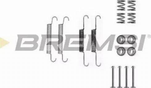 Bremsi SK0020 - Piederumu komplekts, Bremžu loki interparts.lv