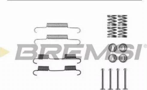 Bremsi SK0896 - Piederumu komplekts, Bremžu loki interparts.lv