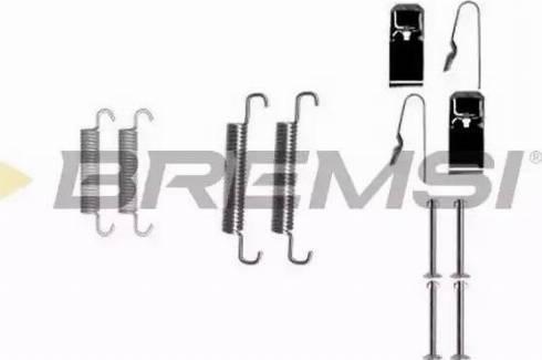 Bremsi SK0890 - Piederumu komplekts, Bremžu loki interparts.lv