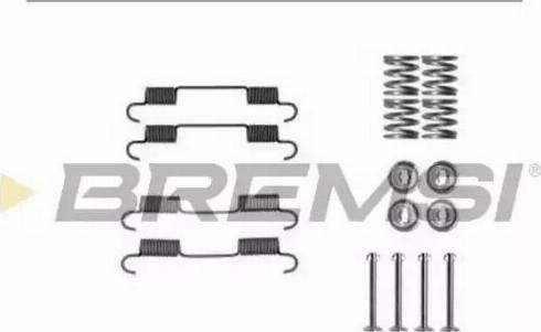 Bremsi SK0897 - Piederumu komplekts, Bremžu loki interparts.lv