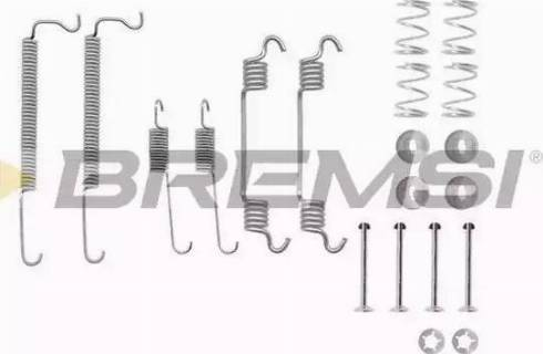 Bremsi SK0849 - Piederumu komplekts, Bremžu loki interparts.lv