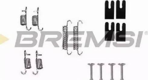 Bremsi SK0850 - Piederumu komplekts, Bremžu loki interparts.lv