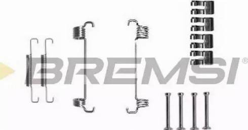 Bremsi SK0851 - Piederumu komplekts, Bremžu loki interparts.lv