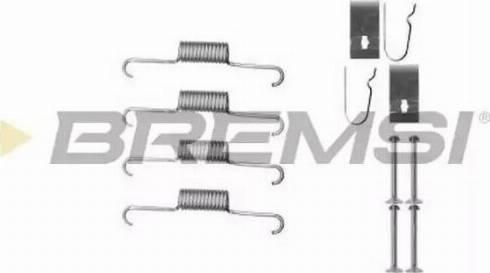 Bremsi SK0884 - Piederumu komplekts, Bremžu loki interparts.lv