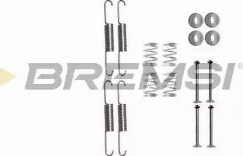 Bremsi SK0880 - Piederumu komplekts, Bremžu loki interparts.lv