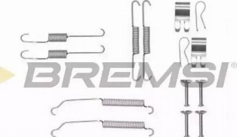 Bremsi SK0882 - Piederumu komplekts, Bremžu loki interparts.lv