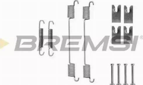 Bremsi SK0836 - Piederumu komplekts, Bremžu loki interparts.lv