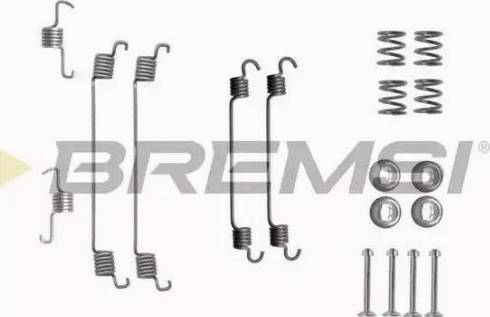 Bremsi SK0820 - Piederumu komplekts, Bremžu loki interparts.lv