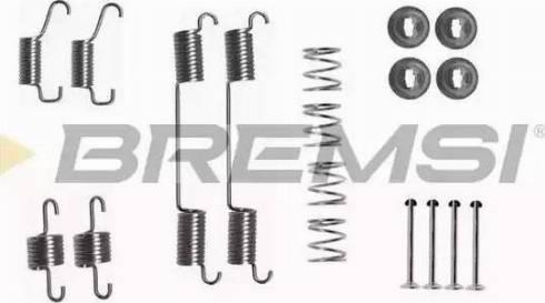 Bremsi SK0828 - Piederumu komplekts, Bremžu loki interparts.lv