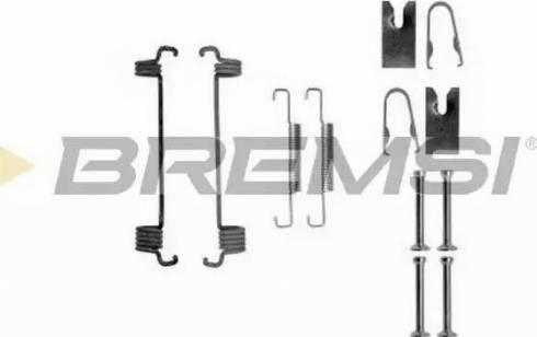 Bremsi SK0875 - Piederumu komplekts, Bremžu loki interparts.lv