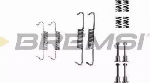 Bremsi SK0877 - Piederumu komplekts, Bremžu loki interparts.lv