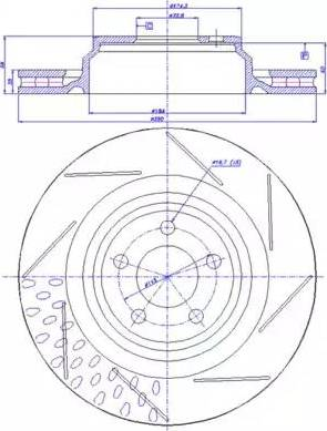 FREMAX BD-3064 - Bremžu diski interparts.lv