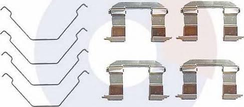 Carrab Brake Parts 1949 - Piederumu komplekts, Disku bremžu uzlikas interparts.lv