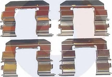 Carrab Brake Parts 1964 - Piederumu komplekts, Disku bremžu uzlikas interparts.lv