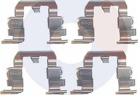 Carrab Brake Parts 1933 - Piederumu komplekts, Disku bremžu uzlikas interparts.lv