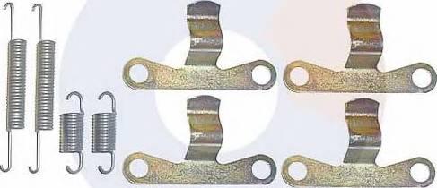 Carrab Brake Parts 3043 - Piederumu komplekts, Stāvbremzes mehānisma bremžu loks interparts.lv