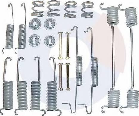 Carrab Brake Parts 3084 - Piederumu komplekts, Bremžu loki interparts.lv