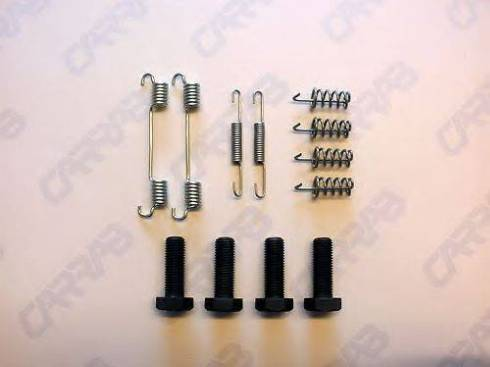 Carrab Brake Parts 3351 - Piederumu komplekts, Stāvbremzes mehānisma bremžu loks interparts.lv